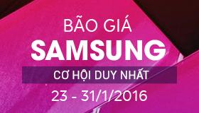 """Siêu """"sốc"""" - Bão giá Samsung, Giảm giá đến 4.000.000Đ"""