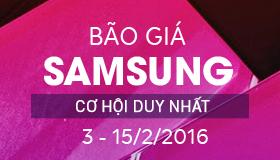 """Siêu """"sốc"""" - Bão giá Samsung, Giảm giá đến 4.000.000Đ (đợt 2)"""
