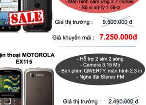 Siêu giảm giá, giảm đến 4.000.000đ tại Hnam Mobile ( tháng 11)