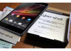 Smartphone Cyber-shot chụp ảnh 20 'chấm' của Sony