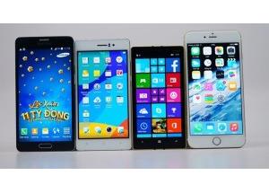 So dáng các smartphone ấn tượng năm 2014