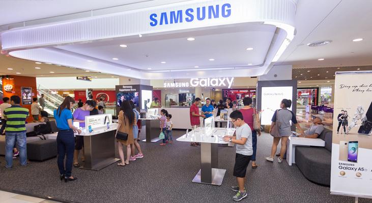 Khai trương Samsung Experience Store SC VivoCity - Hnam Mobile 16