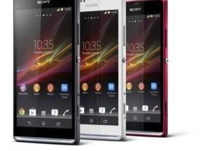 Sony ra mắt Xperia SP màn hình HD 4,6 inch