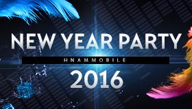 Sự kiện New Year Party 2016 và H-award của Hnam Mobile.
