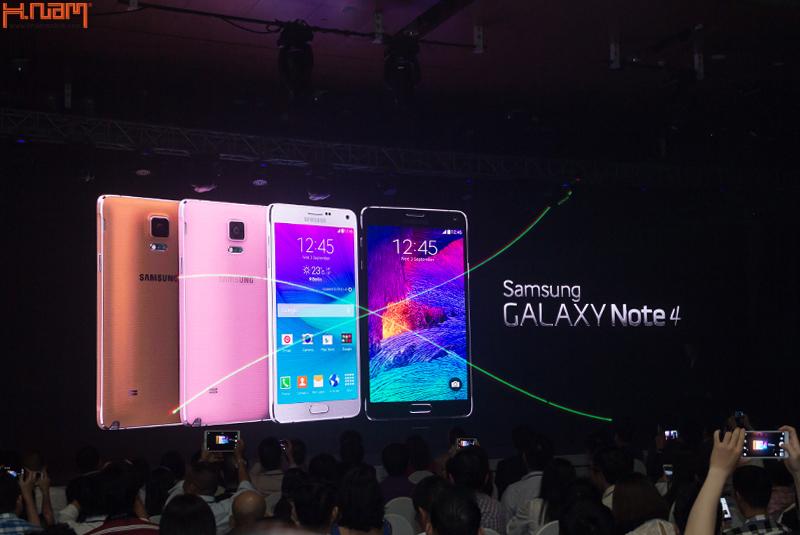 Hnammobile được mời tham dự sự kiện ra mắt Samsung Galaxy Note 4 tại Việt Nam.
