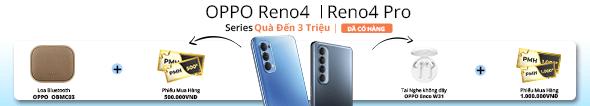Đặt trước OPPO RENO4 - Rước quà sành điệu