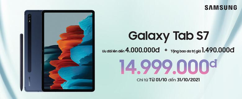 Galaxy Tab S7<br>Ưu đãi 4.000.000đ
