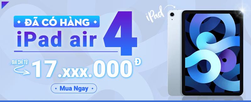 iPad Air 4 Đã Có Hàng