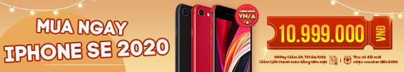 Mua ngay iPhone SE 2020 hàng chính hãng VN/A