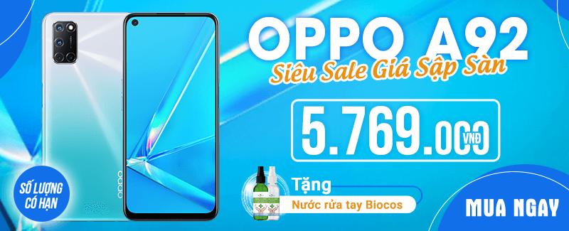 OPPO A92 Siêu Sale - Giá Sập Sàn