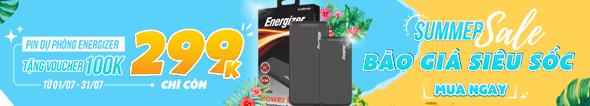 PDP Energizer Giá giảm chỉ còn 299k