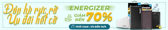 Phụ kiện Energizer Giảm đến 70%