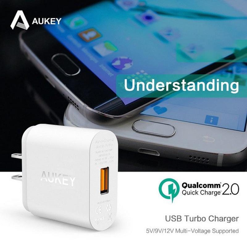 sạc Aukey PA-U28 Quick Charge 2.0