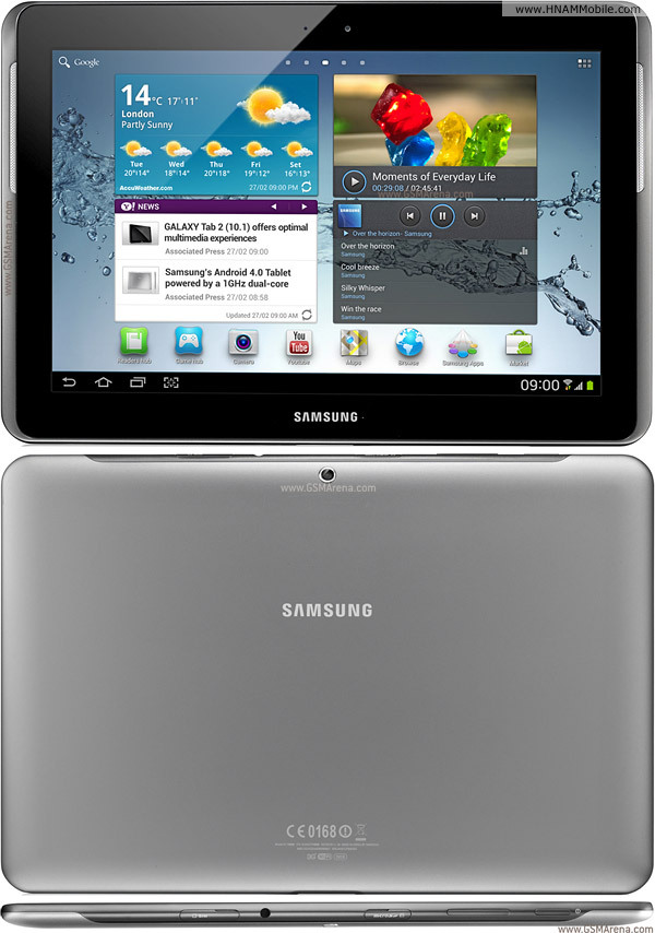 SAMSUNG P5100 Galaxy Tab 2 10.1 3G (cty) 1