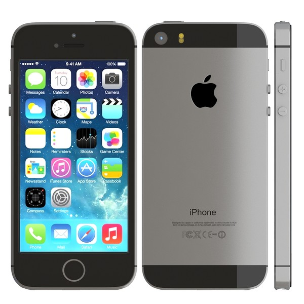 Apple iPhone 5S 16Gb Grey 0