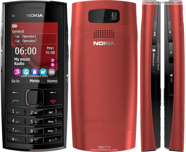 NOKIA X2-02 ( 2 Sim ) 0