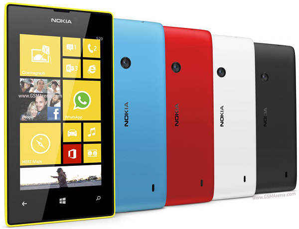 NOKIA Lumia 520 8Gb 0