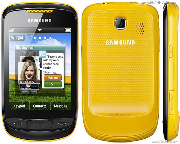 SAMSUNG Corby II S3850 (cty)