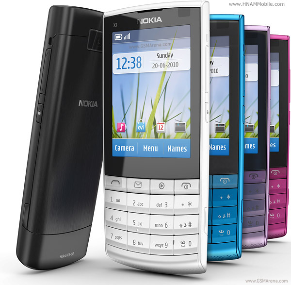 NOKIA X3-02 Touch and Type 0