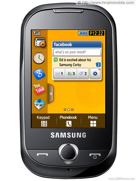 SAMSUNG S3653W Corby WIFI  0