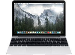 New Macbook Retina 12.0 inch Silver 512Gb - MF865 - (2015)