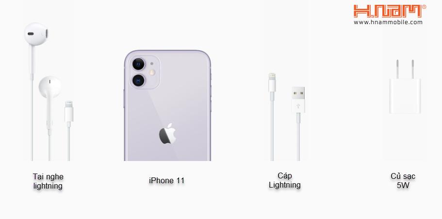 Hình đập hộp Apple iPhone 11 2 Sim 256GB