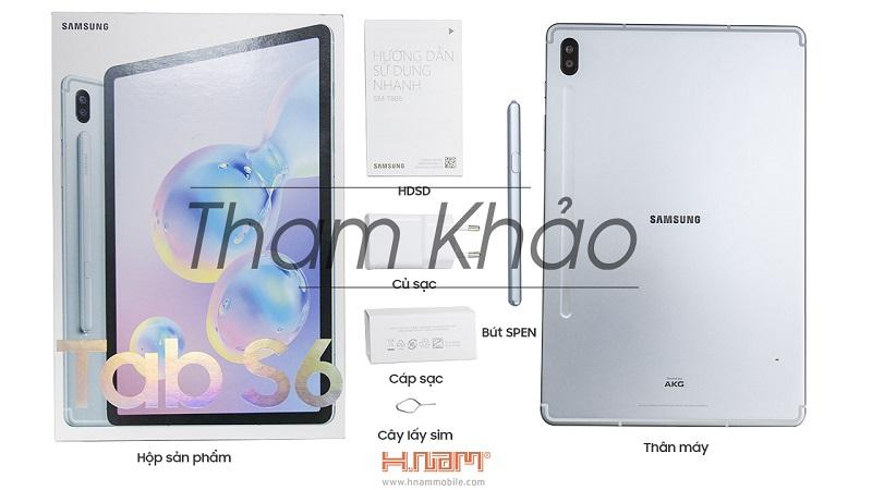 Hình đập hộp Samsung Galaxy Tab S6 T865
