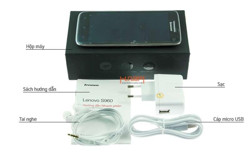 Lenovo Vibe X S960 16Gb hình sản phẩm 0